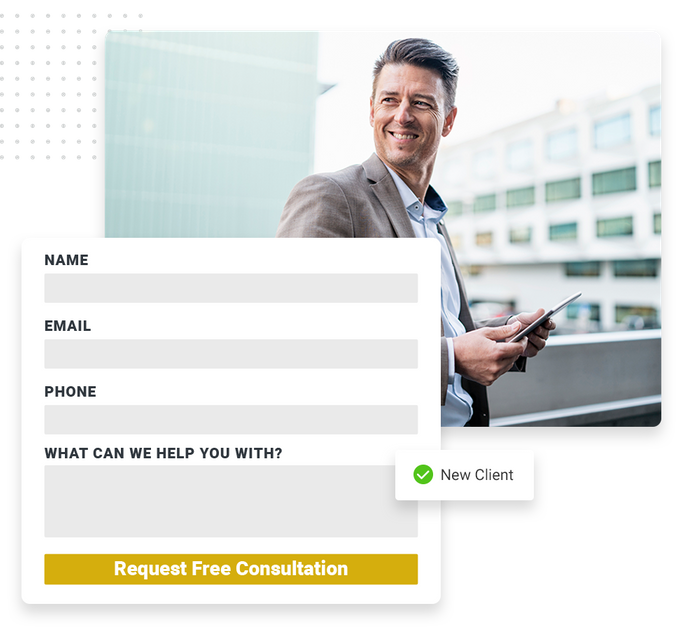 Consultant website forms