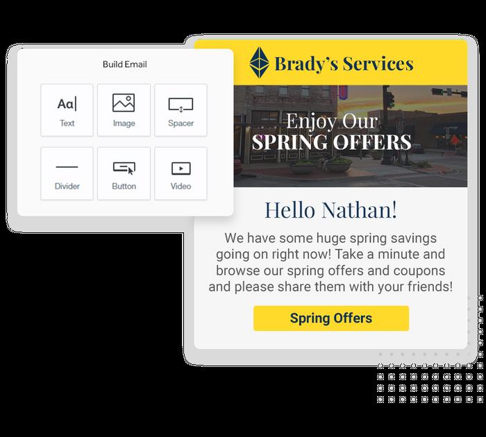 Franchise email marketing