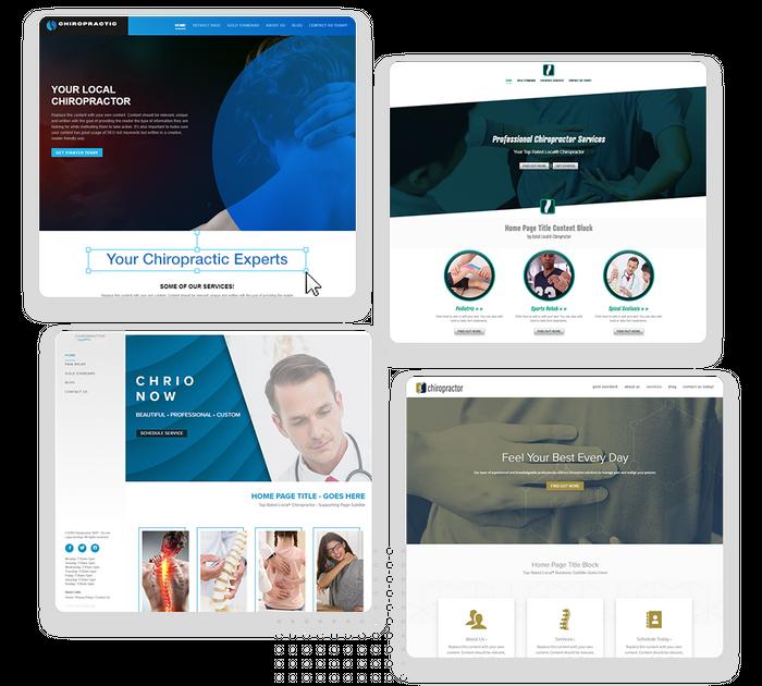Chiropractor websites
