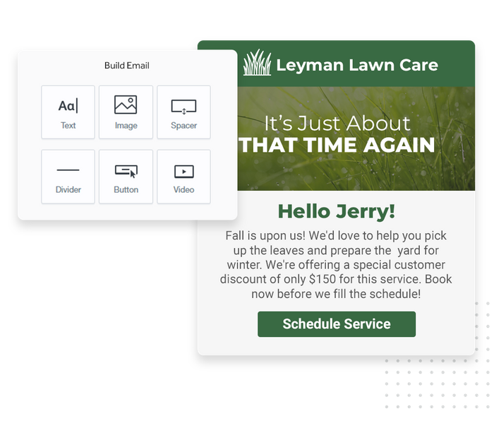 lawn care email marketing