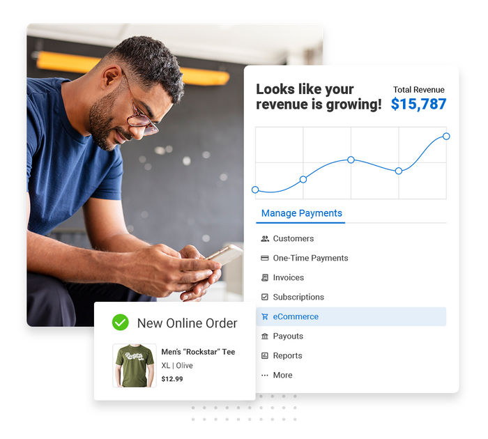 E-commerce payments software