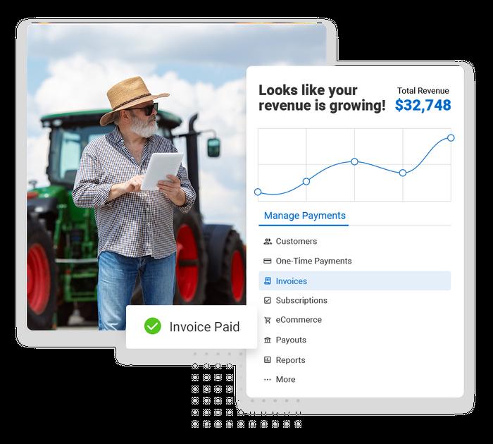 landscaper payments software