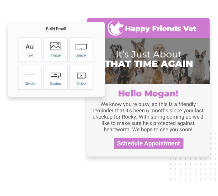 veterinarian email marketing