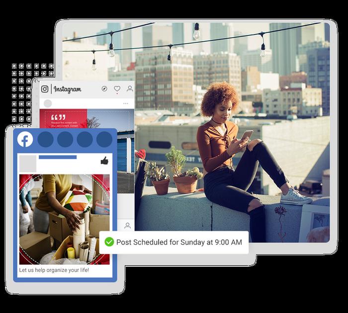 self storage social media marketing