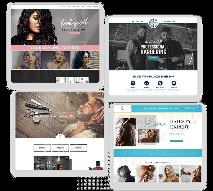 salon websites