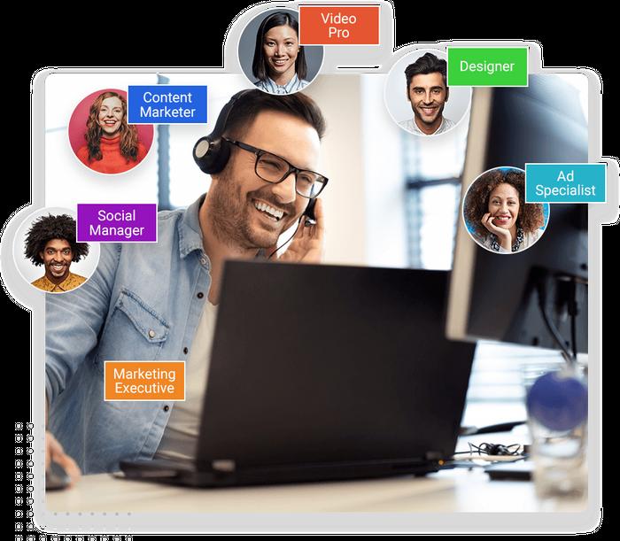 Marketing team
