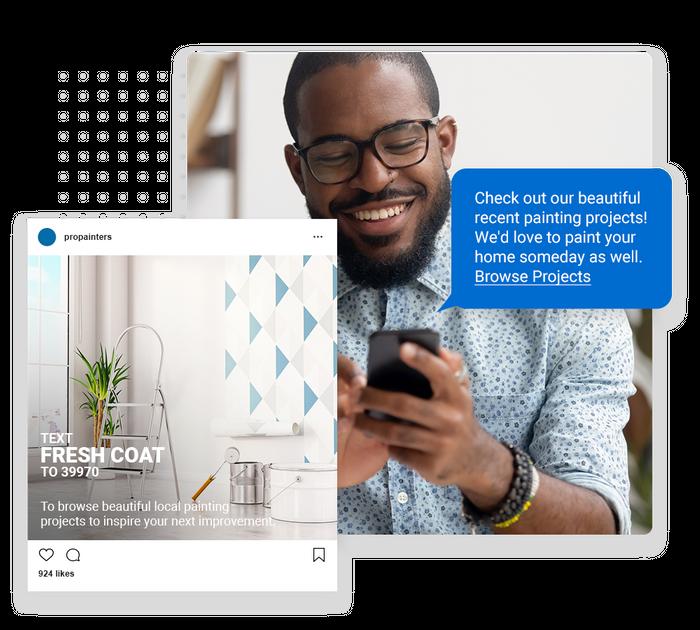 painter text message marketing