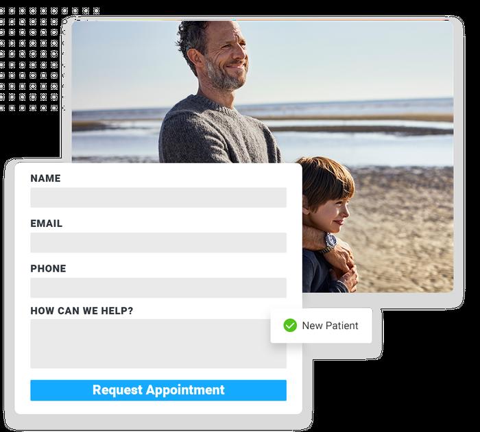 medical website forms