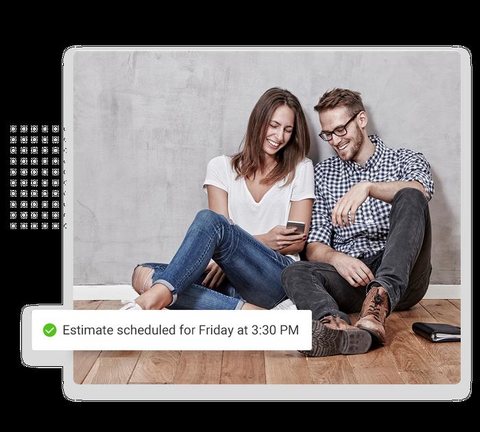 Flooring scheduling software