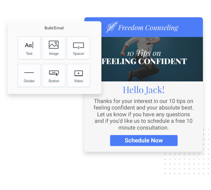 therapist email marketing