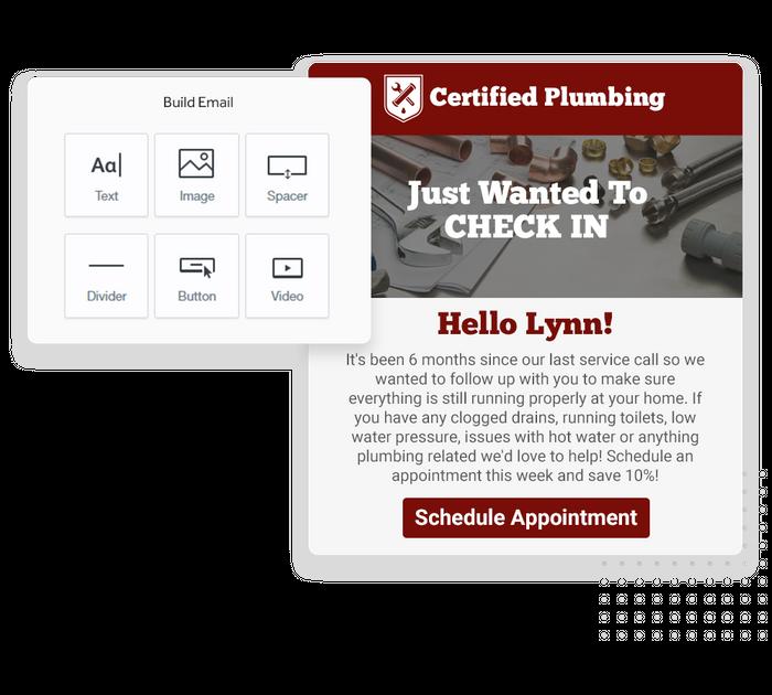 plumber email marketing