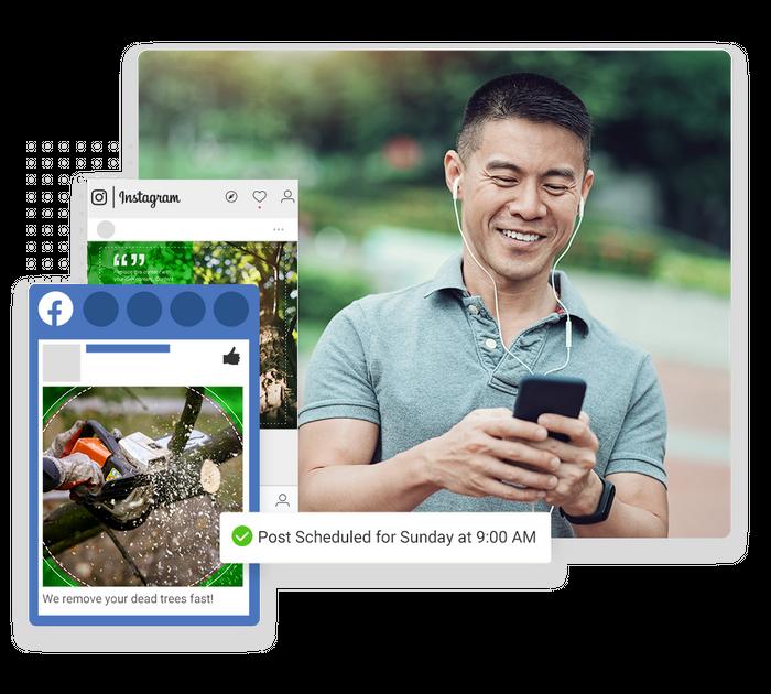 tree care social media marketing