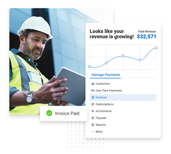 Contractor payments software