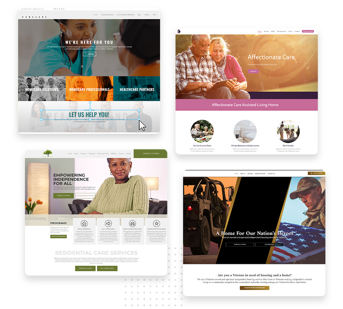 Assisted living websites