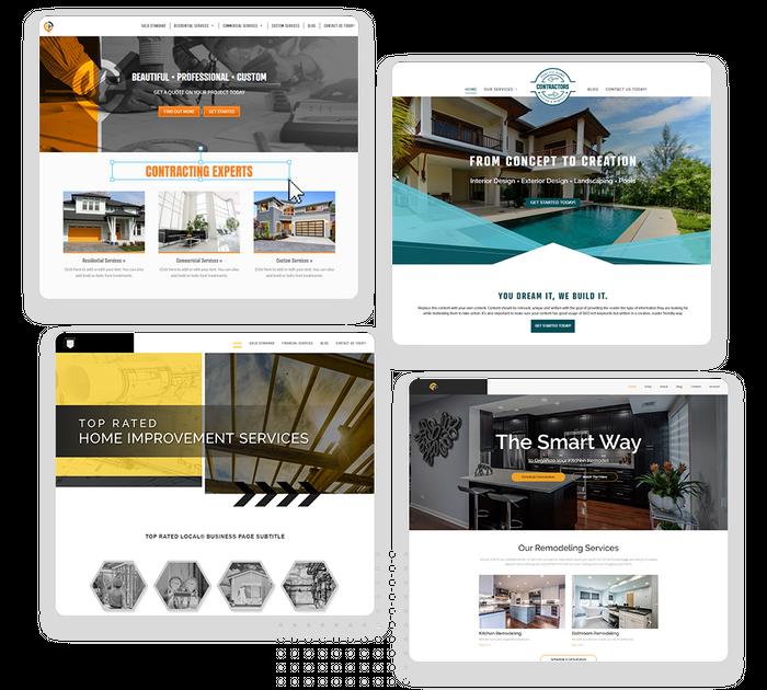 Contractor websites