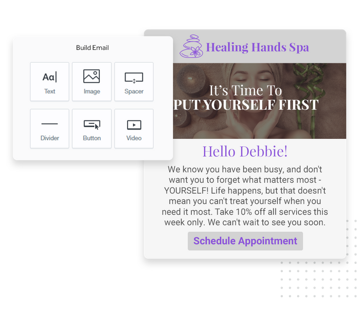 spa email marketing