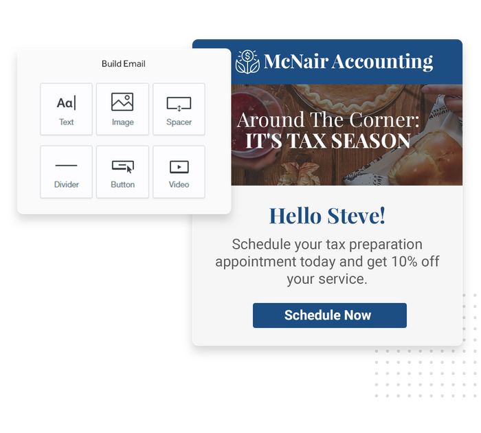 Accountant email marketing