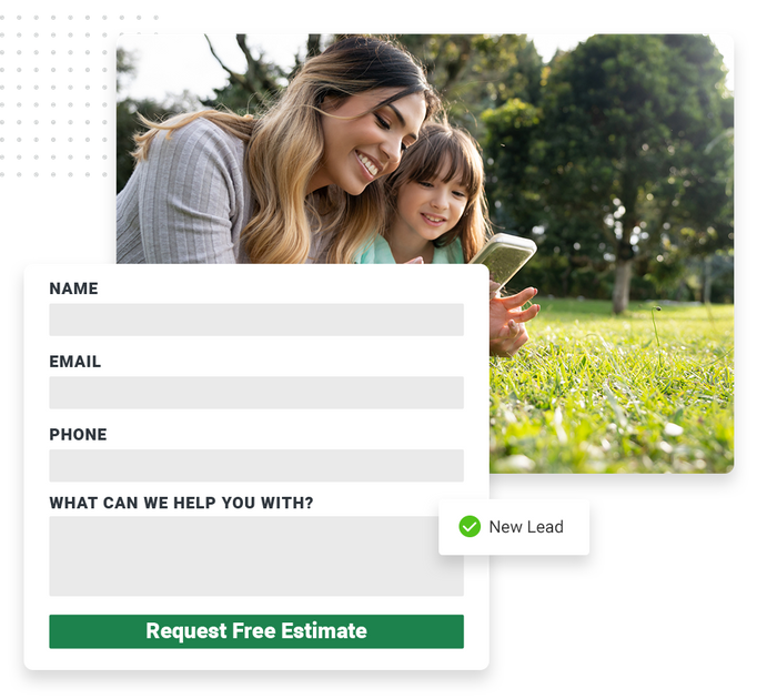 tree care website forms