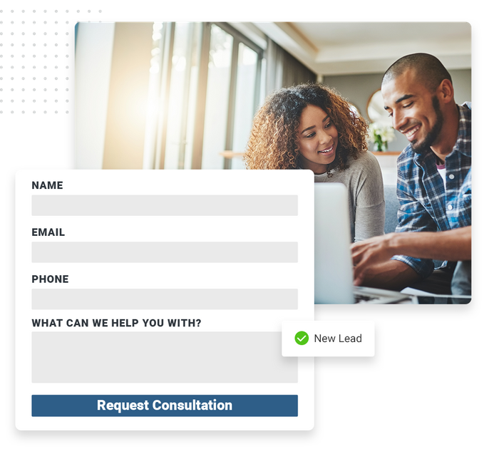 insurance website forms