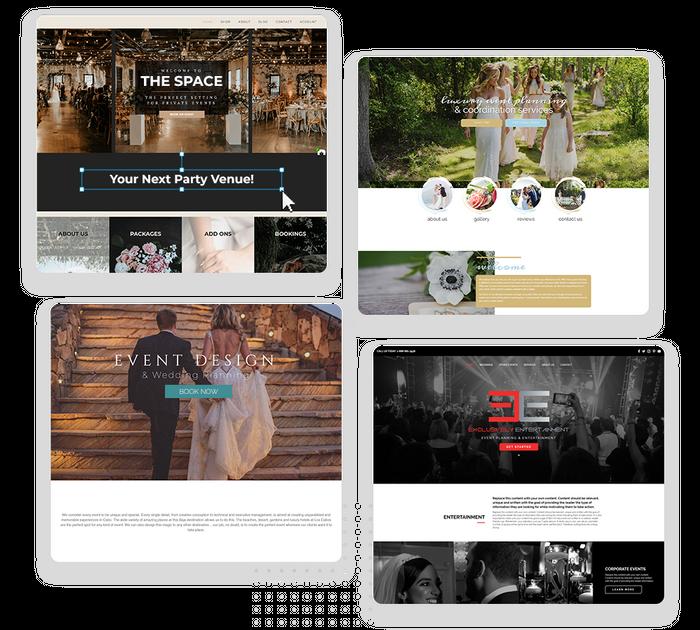 venue websites