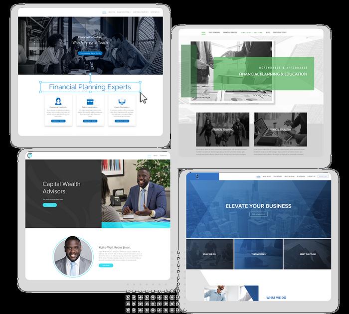 Financial websites