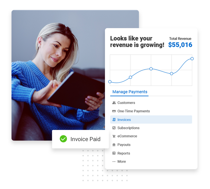 Event planner payments software