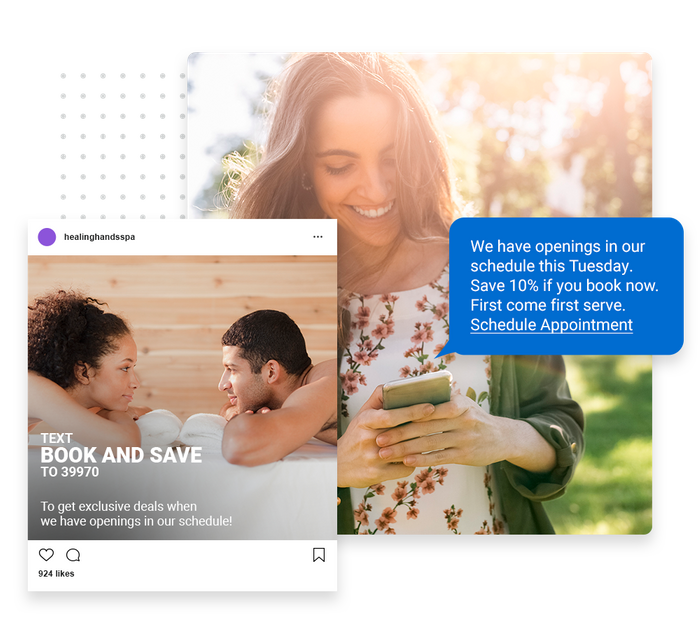 spa text message marketing