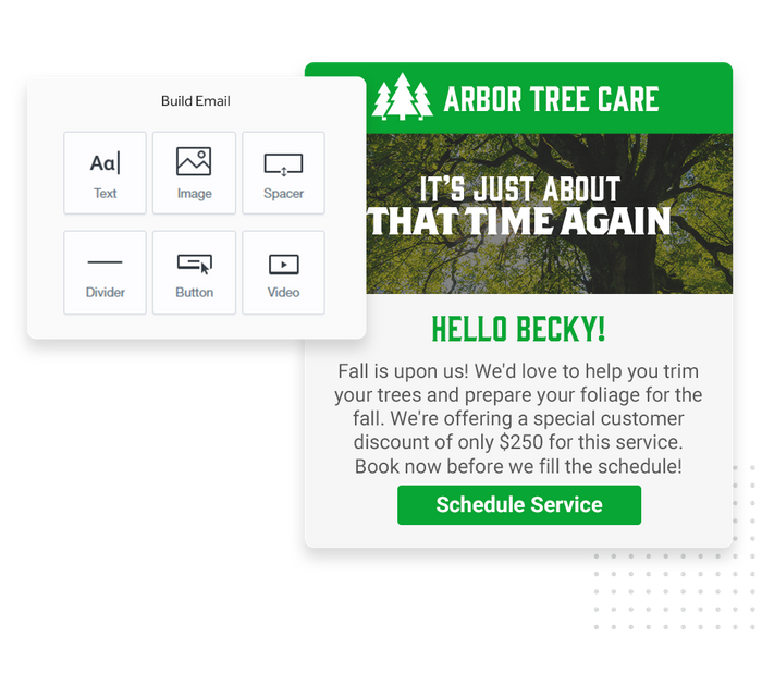 tree care email marketing