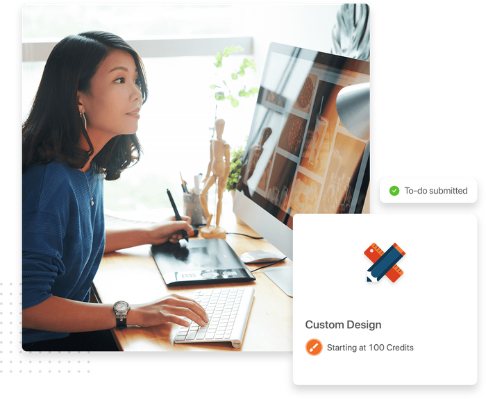 Custom design task detail