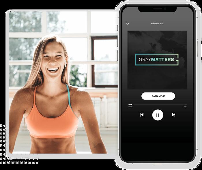Spotify advertising