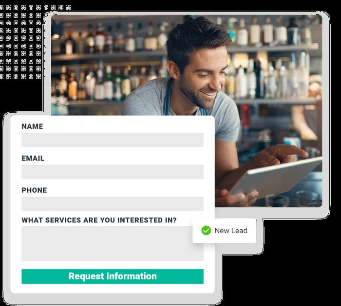 Franchise website forms