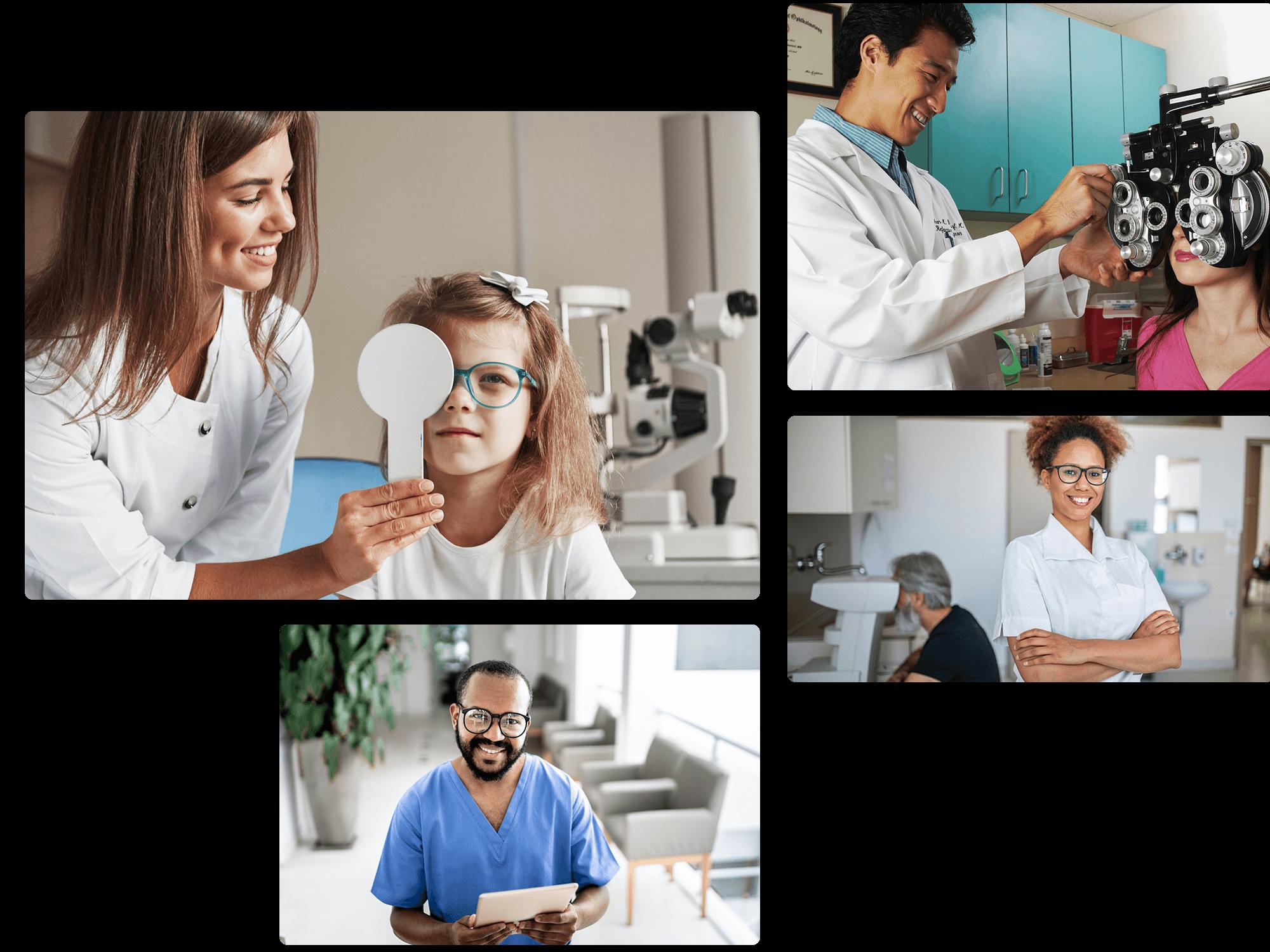 Eye doctor marketing
