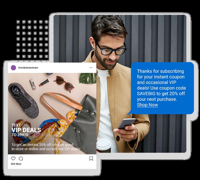 retail text message marketing