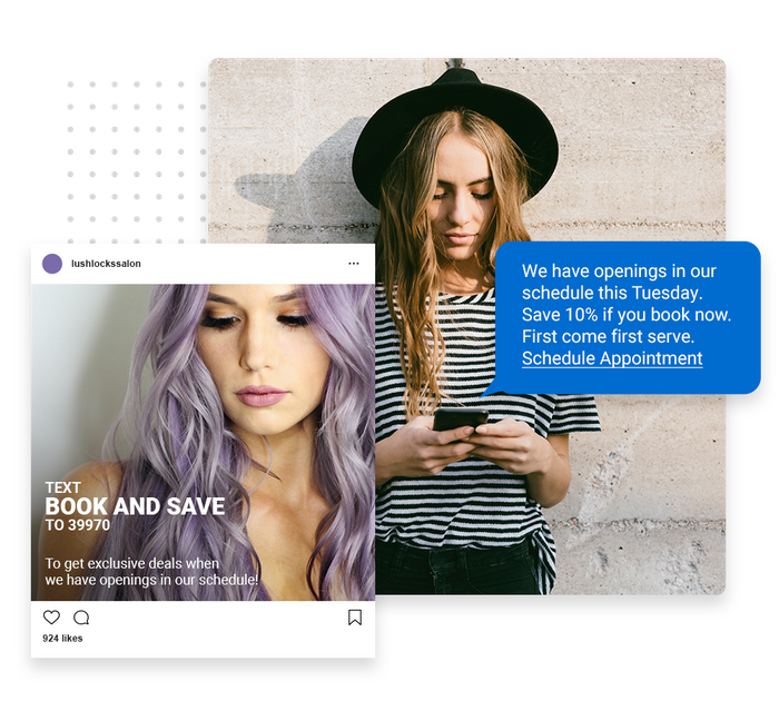salon text message marketing