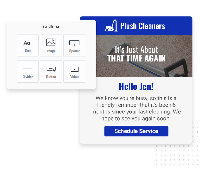 Carpet cleaning email marketing