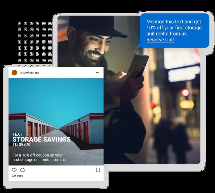 self storage text message marketing