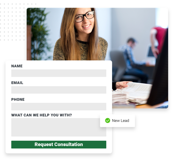 Accountant website forms
