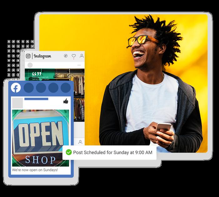 retail social media marketing