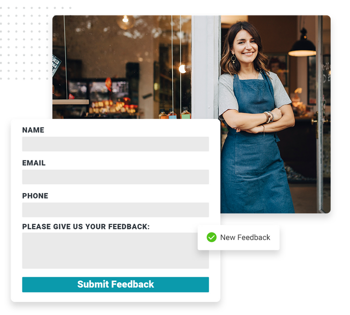 retail website forms