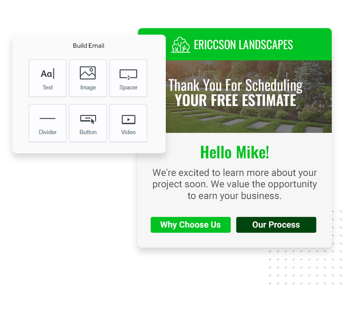 landscaping email marketing