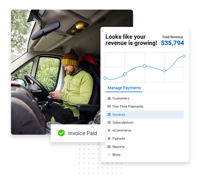 tree care payments software