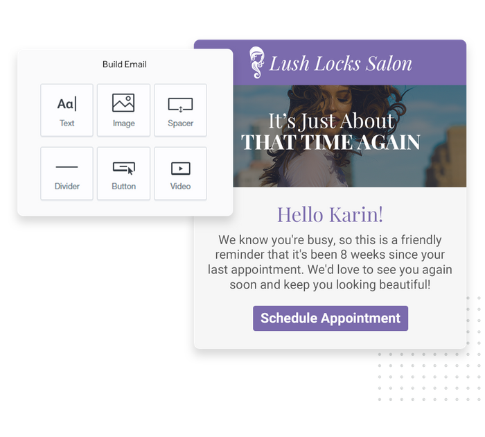 salon email marketing
