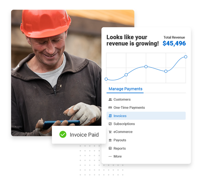 roofer payments software