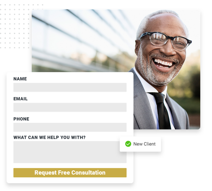 Law firm website forms