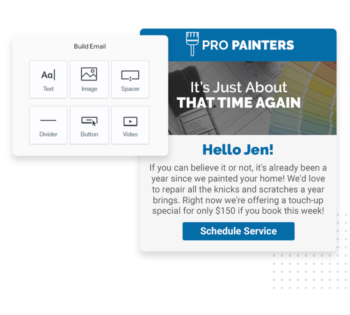 painter email marketing