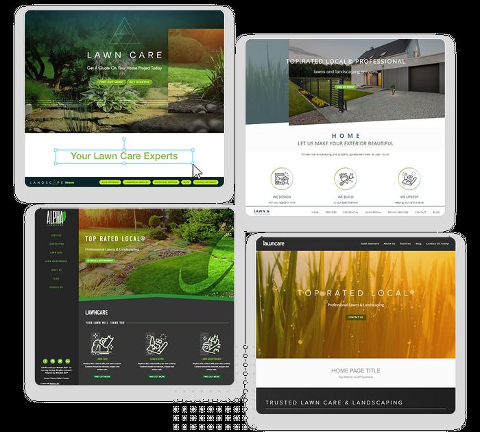 lawn care websites