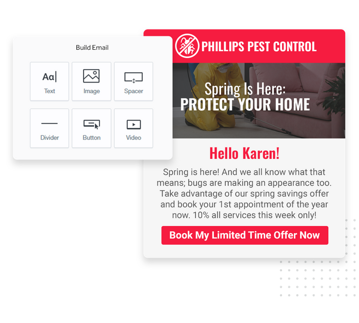 pest control email marketing