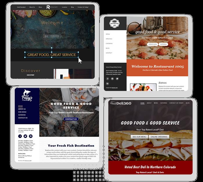 restaurant websites