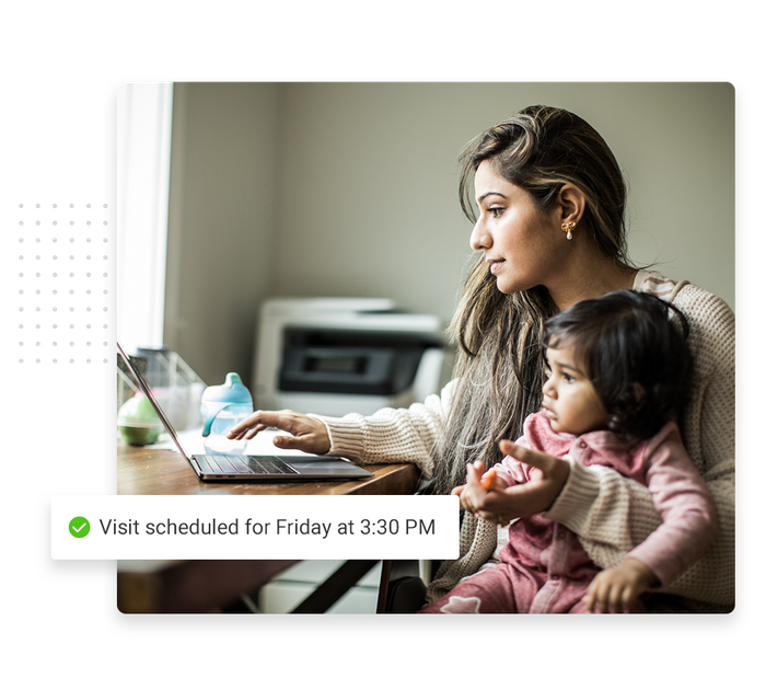 Child care scheduling software
