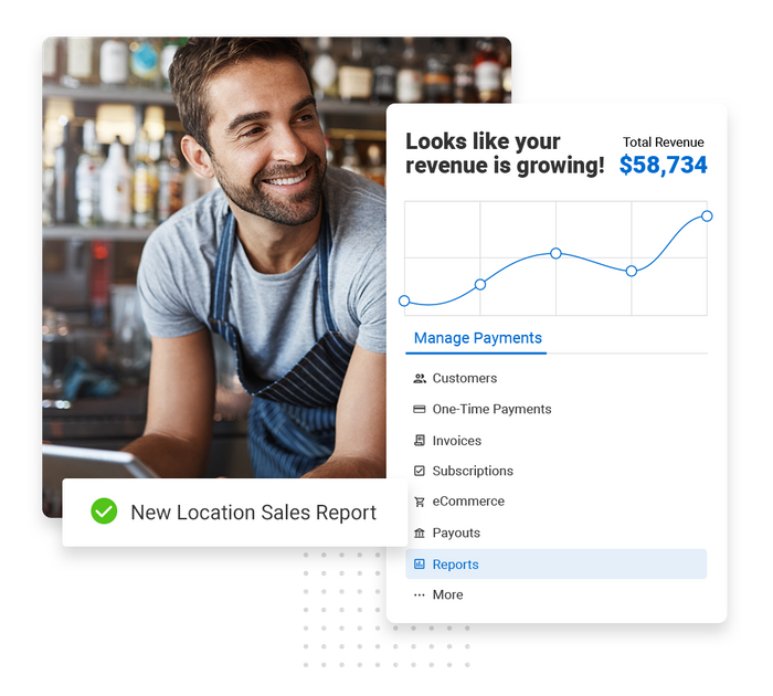 Franchise payments software